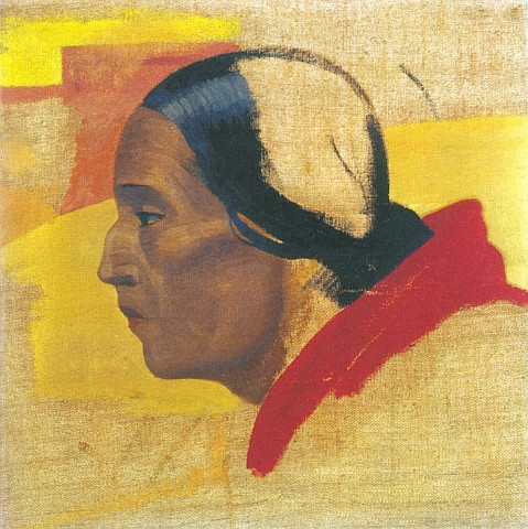 golova_tibetskoi_jenschiny_eskiz1922