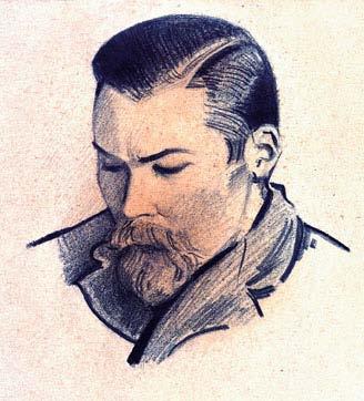 portret_brata_yuriya_indiya_1930-e