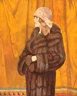 portret_ketrin_kempbell_v_norkovom_palito_1926-1927