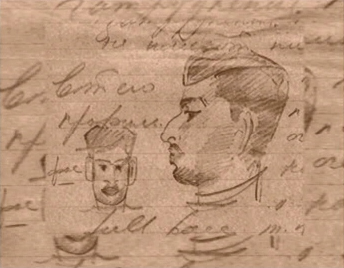 portret_maharadji_travankora_nabrosok_1940