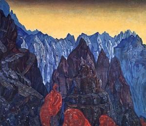 Картина Н. К. Рерих «Крик змия»